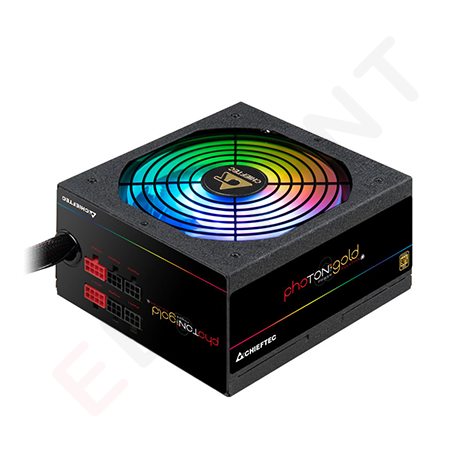 CHIEFTEC RETAIL Photon Gold GDP-750C-RGB,14cm fan,a/PFC,24+8,3xPeripheral,8xSATA,4xPCIe