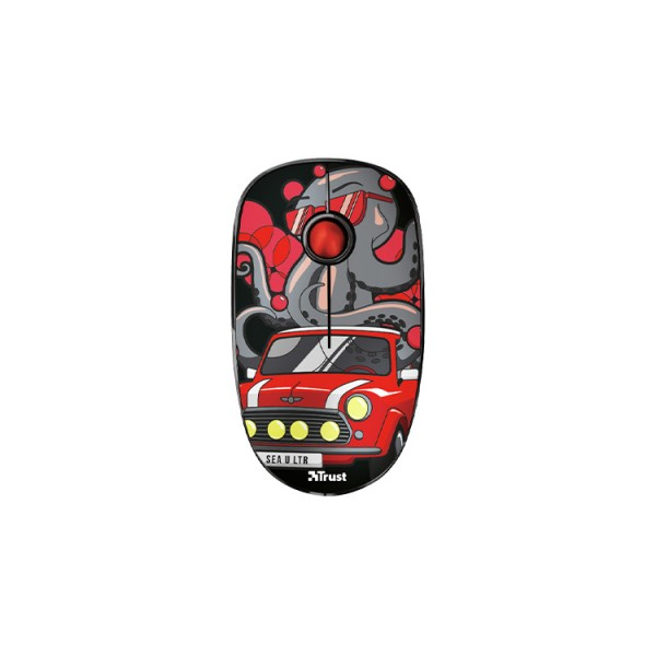 23336 Trust SKETCH SILENT WIRELESS MOUSE RED