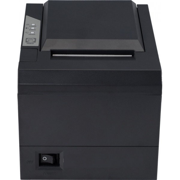 თერმული პრინტერი/80mm thermal Printer (RP-M809)/Black, USB+COM+LAN interface