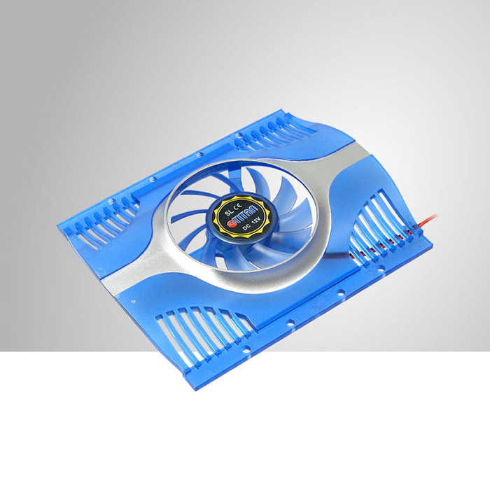 Cooling HDD cooler ice silent 1 60x60x10 mm fans 15.9dBA3500 r/min