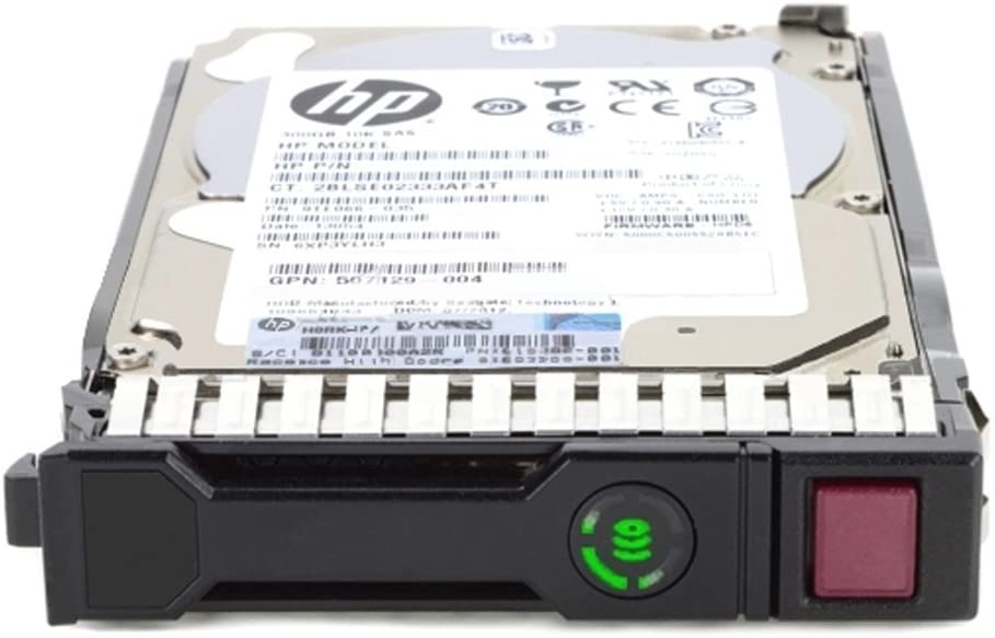 HP 600 GB 2.5-Inch Internal Hard Drive 600 SAS 16 MB Cache Internal Bare or OEM Drives 652583-B21