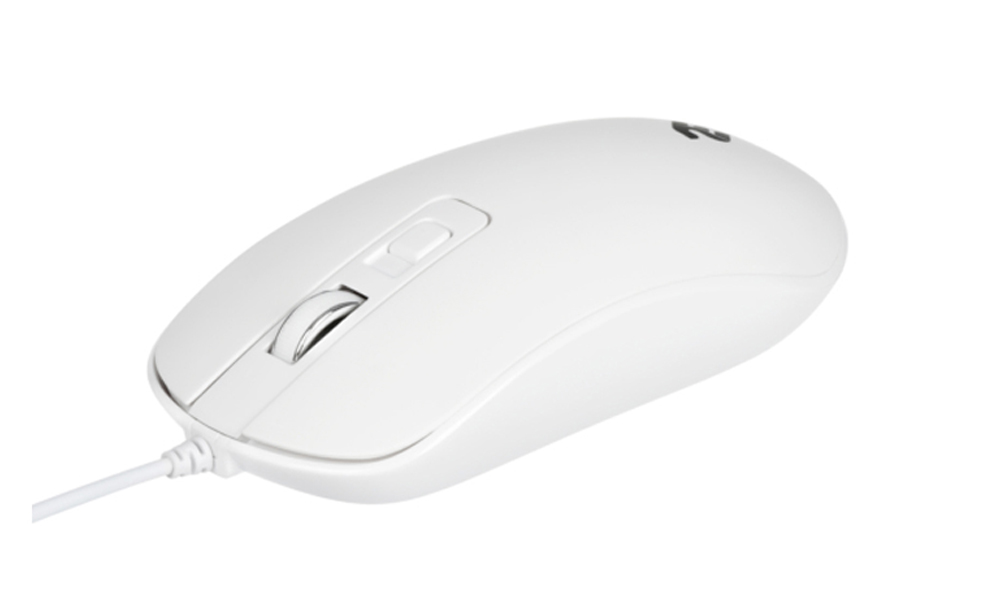 2E Wired mouse 2Е MF110 White