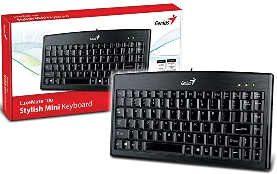 კლავიატურა LuxeMate 100, Genius  Keyboard, USB, Black