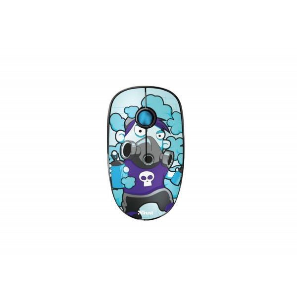 23335 Trust SKETCH SILENT WIRELESS MOUSE BLUE