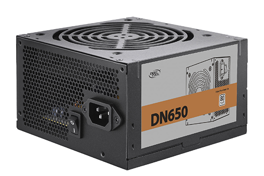 კვების ბლოკი DN650, Deepcool, 650W rated power with 120mm  fan to power your system
