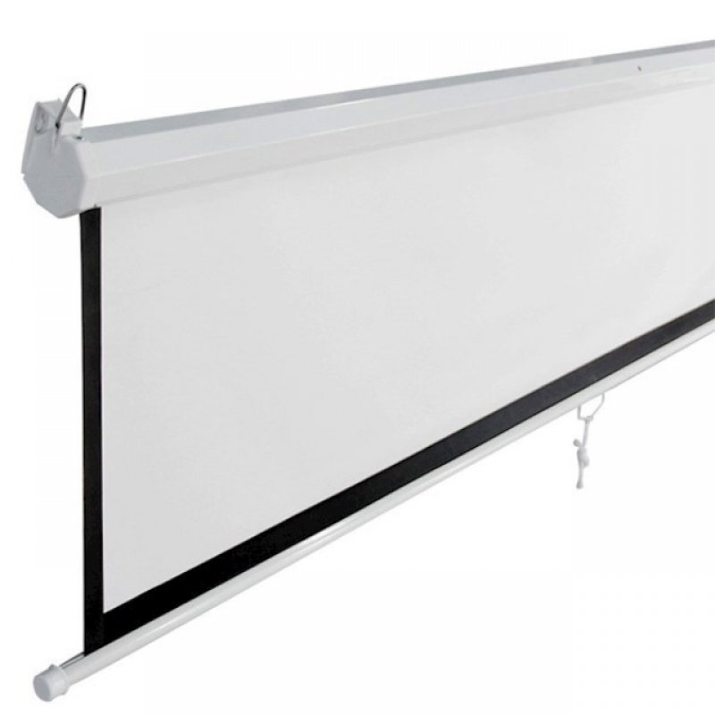 ALLSCREEN MANUAL PROJECTION SCREEN 240CM X 180CM HD FABRIC CWP-12043