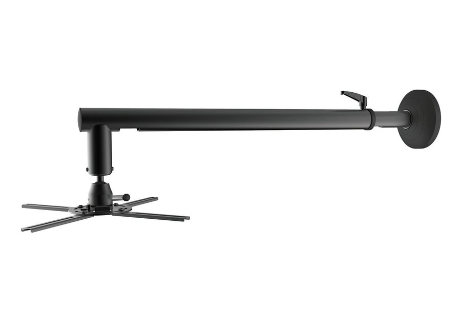 Projector/ Beamer Mounting/ PRB-16-03L, Wall, Profile 820mm-1200mm, Tilt -20~+20°,Swivel -20~+20°,Rotate 360°,Rated Load 26kg/57lbs, Mounting Range