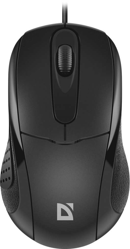 Wired მაუსი optical mouse Defender Standard MB-580 black, 3 buttons,1000 dpi