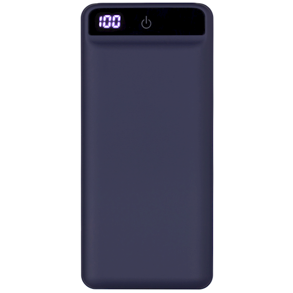 2E Power Bank 20000mA/h, DC 5V, PD, QC3.0-2USB, MicroUSB, Type-C, darkblue