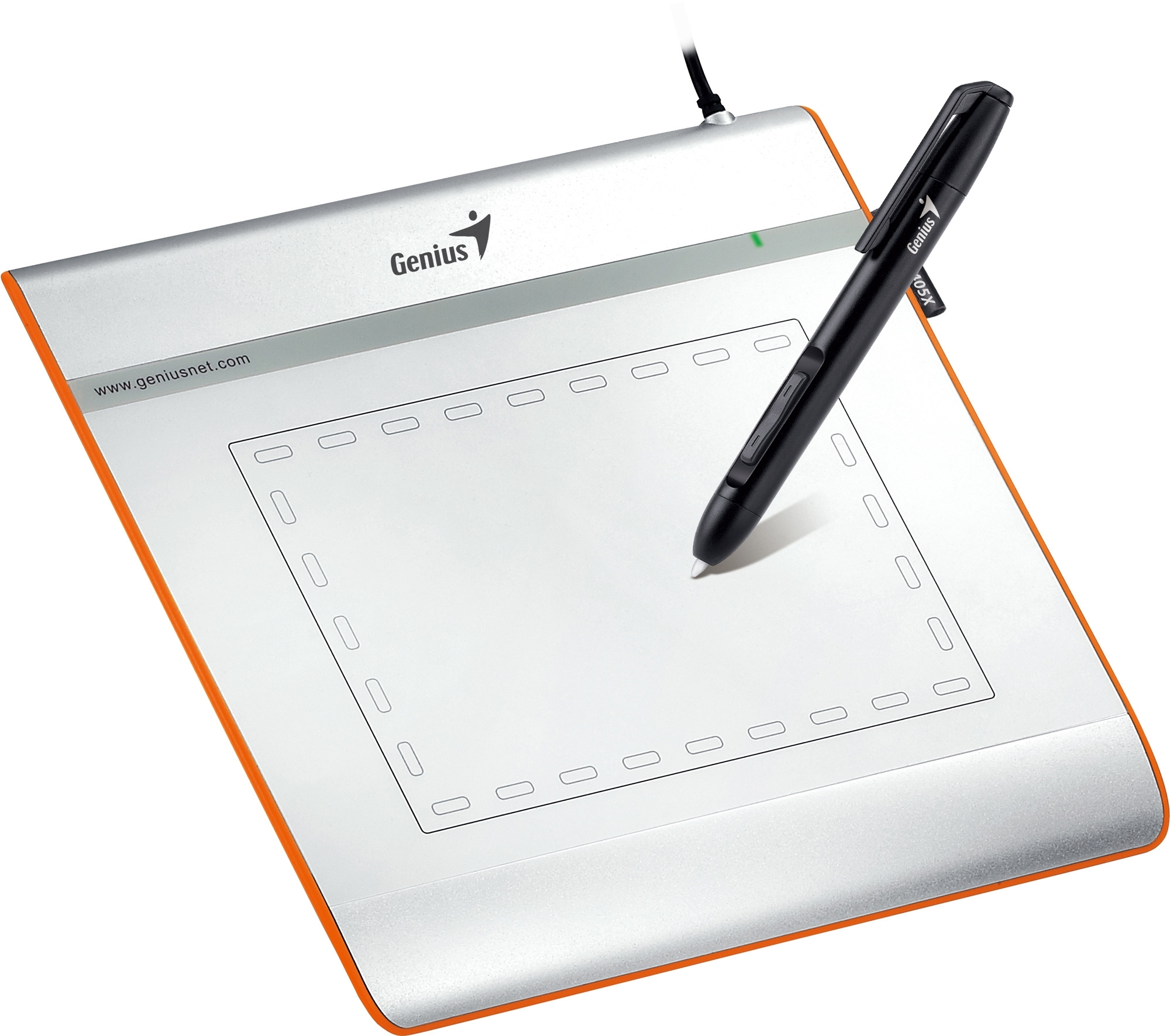 "Easypen i405X, Genius Cordless  4"" x 5"" Pen Device"