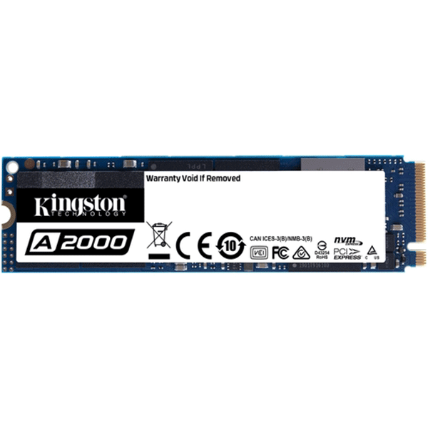 Kingston SA2000 NVMe™ PCIe Gen 3.0 x 4 Lanes   M.2, 1TB