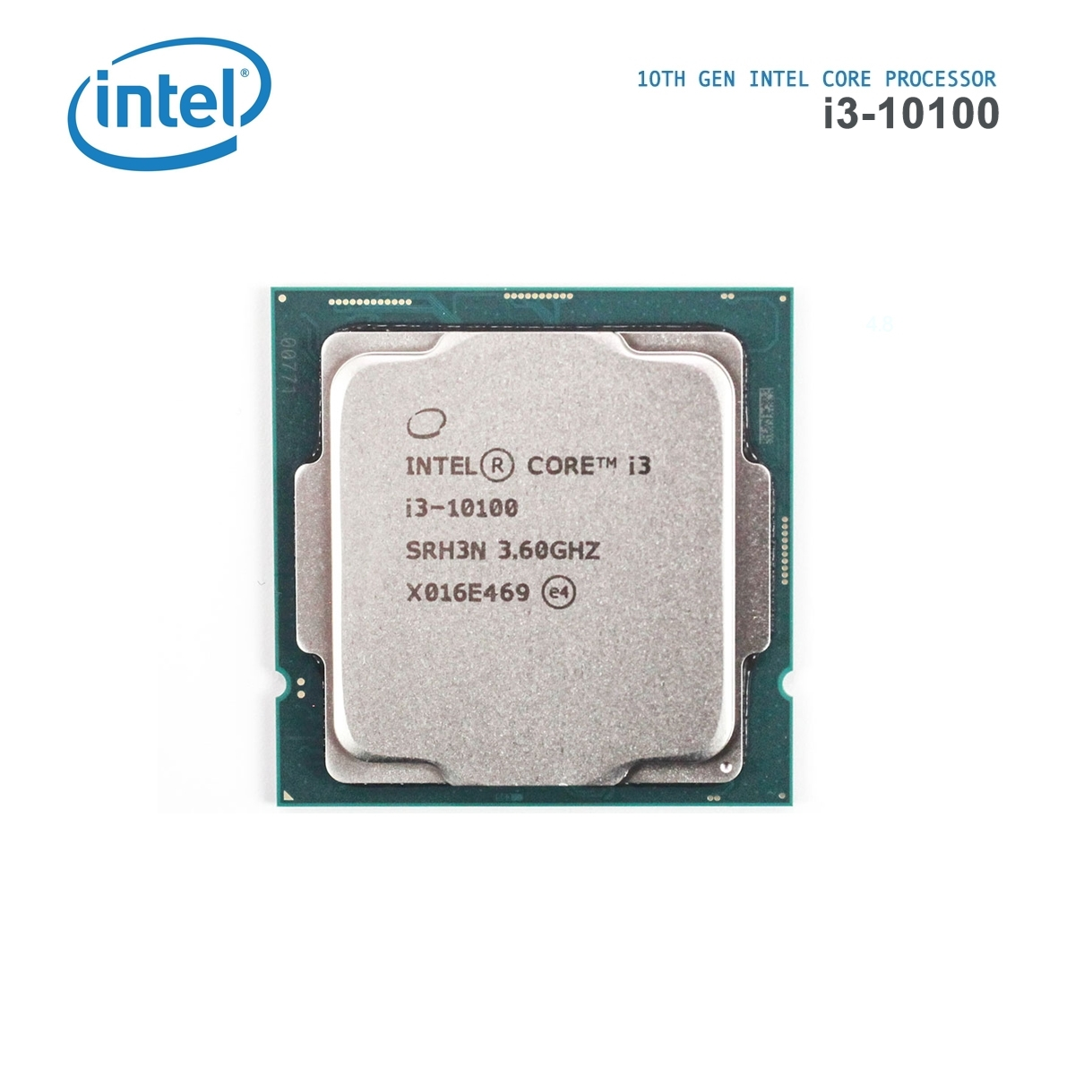 Intel Core i3-10100 4/8 3.6GHz 6M LGA1200 65W TRAY