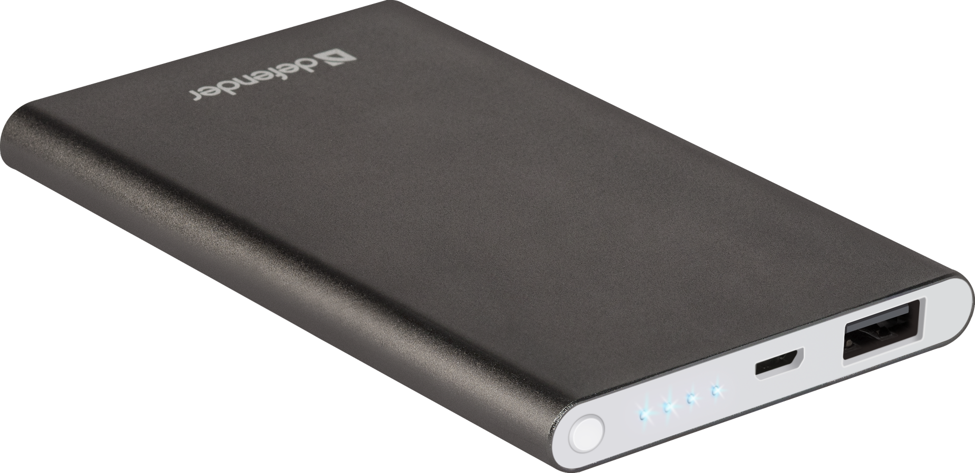 Power bank Defender ExtraLife 4000B Li-pol, 1 USB, 4000 mAh, 2.1A