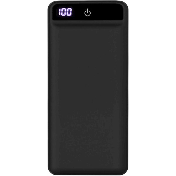 2E Power Bank 20000mA/h, DC 5V, PD, QC3.0-2USB, MicroUSB, Type-C, black