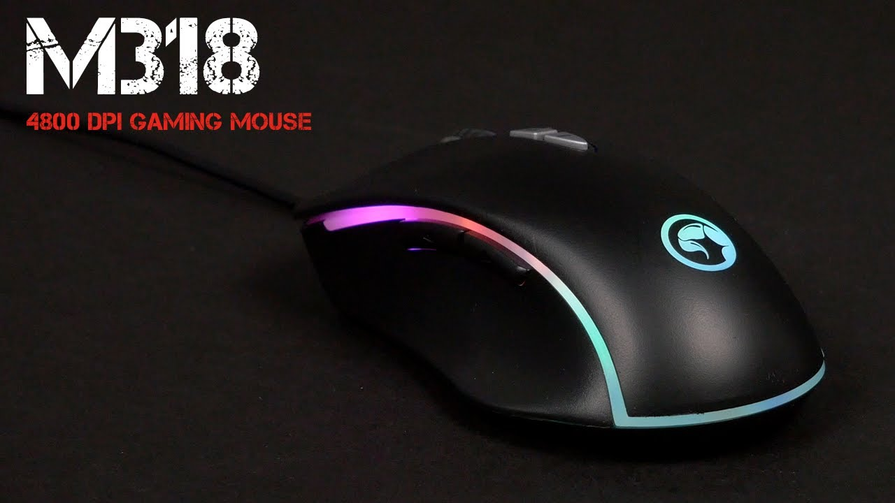 თაგვი: MARVO M318 gaming mouse
