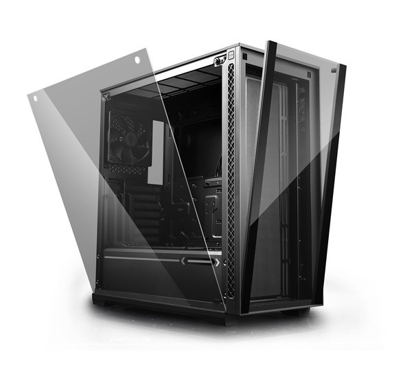 MATREXX 70, Deepcool, Mid Tower Computer Case,2×USB3.0/1×USB2.0/1