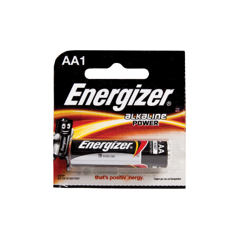 ელემენტი,  0663 Energizer Alkaline Power AA  LR6-BP20 (E300140300)